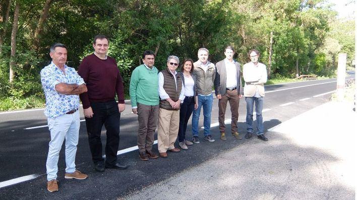 Concluyen las obras de asfaltado de la carretera Palma-Puigpunyent