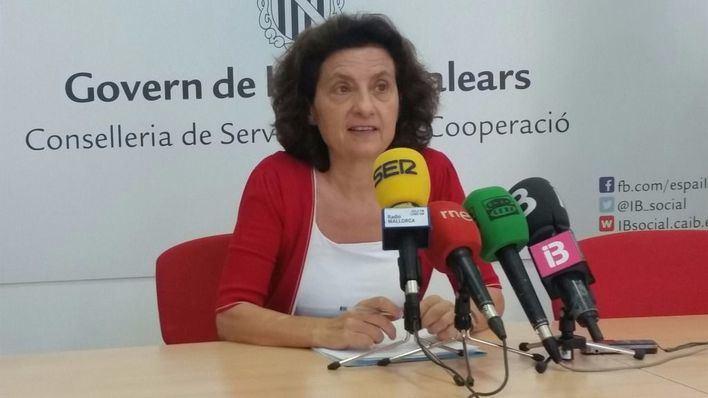 La consellera Fina Santiago