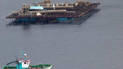 Tres muertos al chocar un pesquero contra una batea en la Ría de Pontevedra
