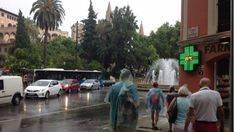 Intensas lluvias y caída de hasta 10 grados en Mallorca este jueves