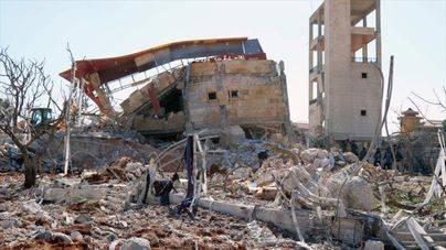 Al menos 6 muertos en un bombardeo aéreo contra un hospital en Siria