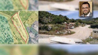 Un almacén de la empresa familiar del conseller Vidal invade un área protegida en Esporles