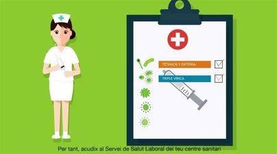 El Colegio de Enfermería de Balears pide retirar la campaña de Sanidad de vacunación por imagen