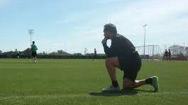 Sergi Barjuan no califica de final el partido en Sevilla