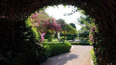 Los jardines de Marivent se pueden visitar desde hoy