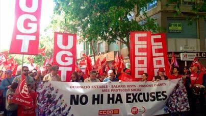 El Govern se suma a los sindicatos para pedir a los empresarios