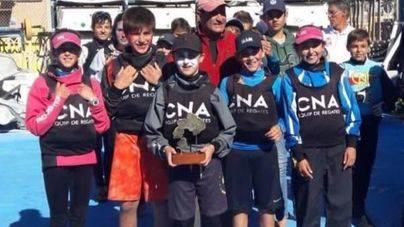 El Club Nàutic s'Arenal, campeón de Balears por equipos de Optimist