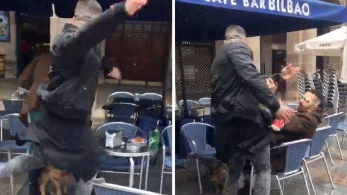 Detenido el ultra que agredió a un hombre en una terraza de Bilbao
