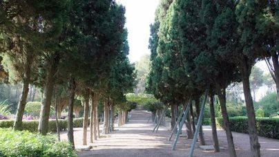 1.400 personas visitan el jardín de Marivent el primer día de apertura