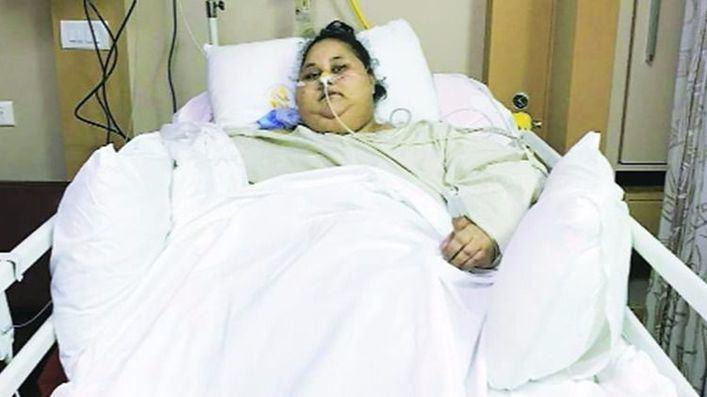 La mujer más obesa del mundo pierde 200 kilos tras ser operada
