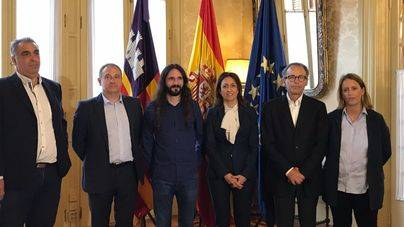 Reunión FEHM y Baltasar Picornell