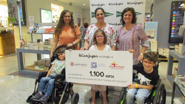 El Corte Inglés entrega 1.100 euros por la venta de 'Cocina con tus hijos'