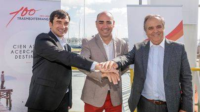 Trasmediterránea acoge el primer torneo de baloncesto 3x3 en un ferry
