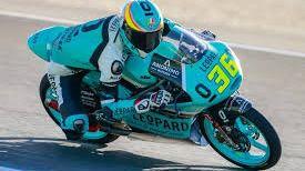 Joan Mir hace tercero y sube al podio en Jerez