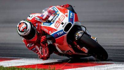 Jorge Lorenzo consigue su mejor resultado con Ducati