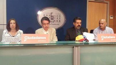 Cs lamenta que Podemos y MÉS rechacen una declaración institucional sobre Venezuela