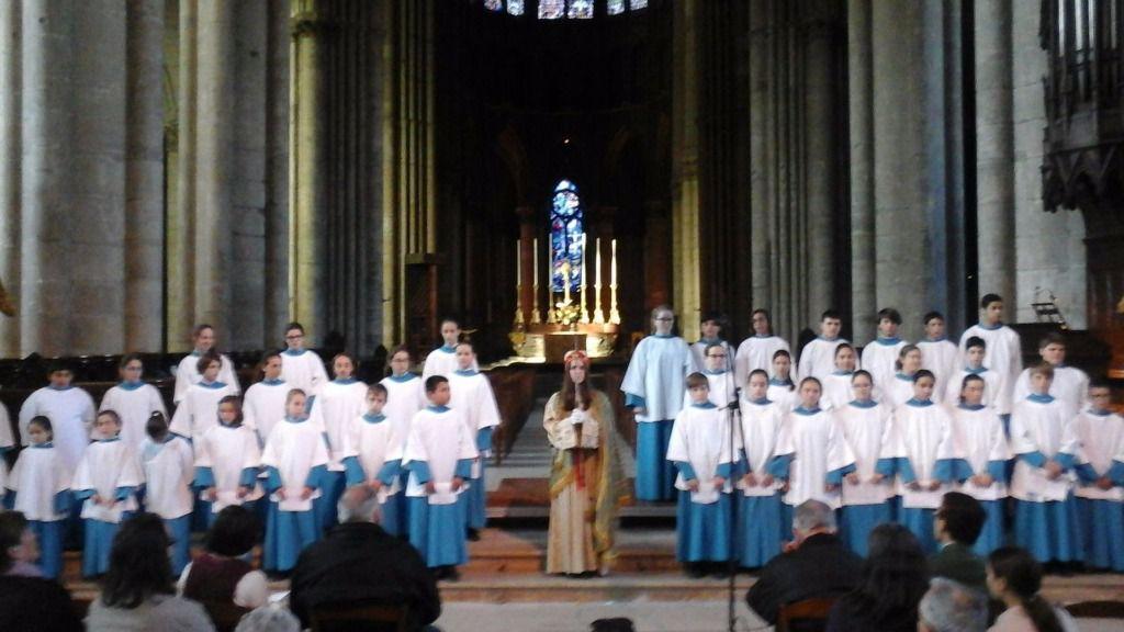 La Escolania de Lluc lleva la Sibil.la a la Catedral de Reims