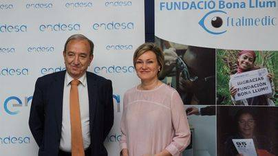 Endesa y Bona Llum ofrecen revisiones oculares a entidades sociales