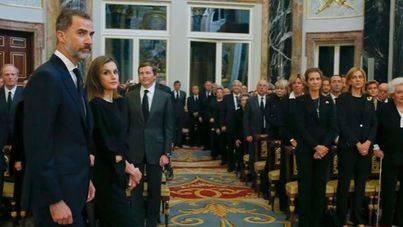 La Infanta Cristina asiste al Palacio Real por primera vez desde su absolución