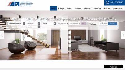 Los agentes de la propiedad promueven su propio portal en la feria inmobiliaria