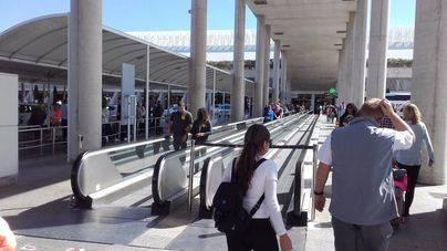 La Semana Santa dispara el número de pasajeros en abril en Son Sant Joan: un 23,7% más
