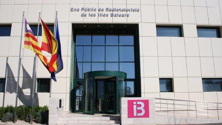 Sede central de la radiotelevisión pública en Son Bugadelles