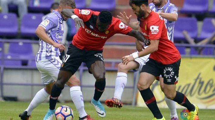 El Valladolid frena la reacción del Mallorca que pierde 2-1 en Zorrilla