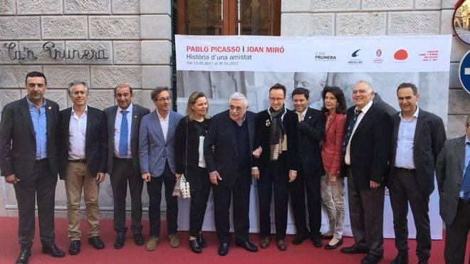 La amistad de Picasso y Miró convierte a Sóller en la capital del arte