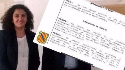 La gerente del Ibavi, Mª Antònia Garcías, declara este lunes por una querella por acoso laboral