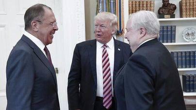 La Casa Blanca dice que Trump no dio información secreta a Rusia