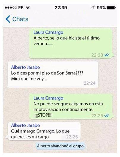 La verdadera conversación entre Jarabo y Camargo