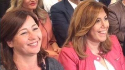 Susana Díaz le dice a Armengol que