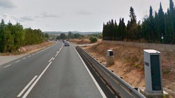 El radar más activo de Balears es el de la carretera de Manacor: 467.899 euros en multas en 2016