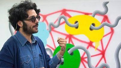 Albert Pinya, en el Museo de Arte Contemporáneo de Lissone, en Italia