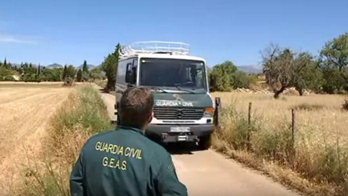La Guardia Civil continúa interrogando al exyerno del asesinado en Sencelles