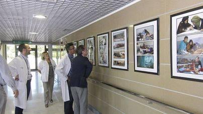 El Hospital de Son Espases acoge una exposición de Medicus Mundi sobre el pueblo saharaui