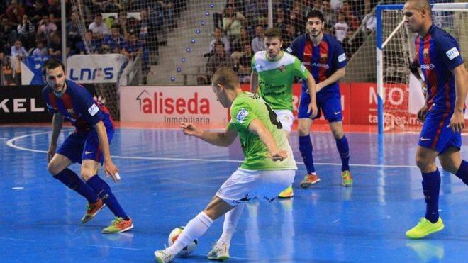 El Palma Futsal pierde en Barcelona y despide la temporada