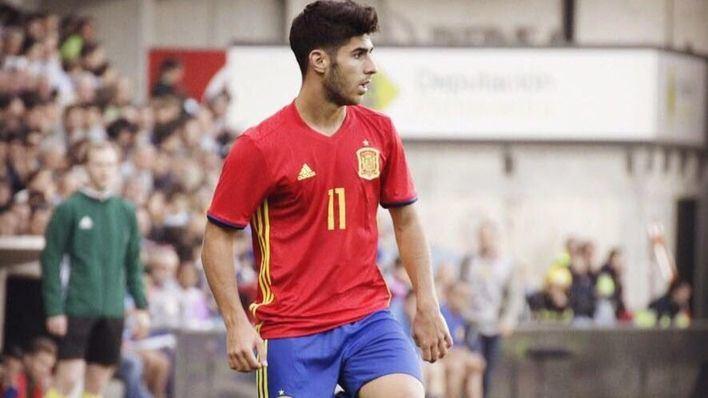 Marco Asensio convocado por la Selección Española Absoluta y sub-21
