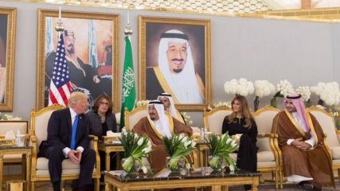 Trump en Arabia Saudí antes de viajar a Israel