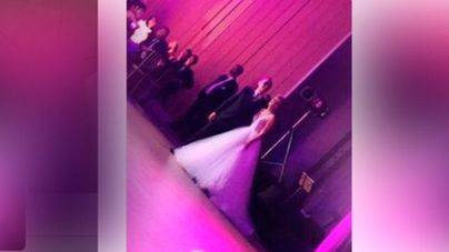 Filtran una foto de la boda de Risto Mejide y Laura Escanes