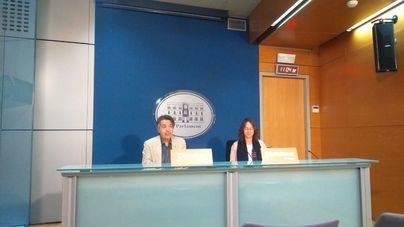 Xavier Pericay y Olga Ballester de Cs