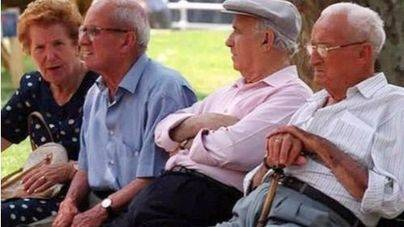 La pensión media de jubilación en Balears es la sexta más baja del país