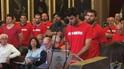 Los bomberos de Palma acusan a Pastor de desprestigiarles 'tras muchos años de duro trabajo'