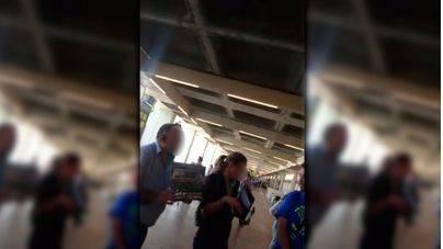 Los taxistas del aeropuerto tienen identificados 40 microbuses ilegales
