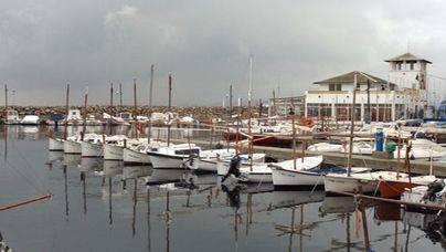 El puerto deportivo del Molinar