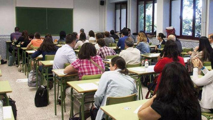 1.307 docentes aspiran a 257 plazas