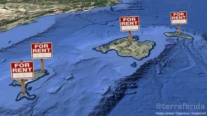 AirBnb facturó 294 millones de euros en 14 meses por alquileres turísticos en Balears