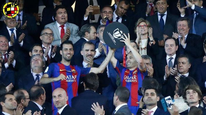 El Barcelona gana la Copa del Rey al Alavés por 3-1
