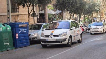 Representantes de los taxistas de Balears se trasladan a Madrid para unirse a las reivindicaciones