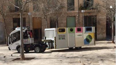 Comienza la recogida selectiva en el casco histórico de Palma